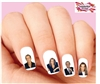 Michael Bolton Assorted Waterslide Nail Decals