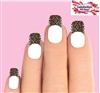 Snake Skin Tips Set of 10 Waterslide Nail Decals