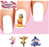 Winnie the Pooh Tigger Piglet Eeyore Assorted Set of 20 Waterslide Nail DecalsS