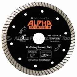 Alpha Professional Tools  DEE005 Eclipse II Blade 5""