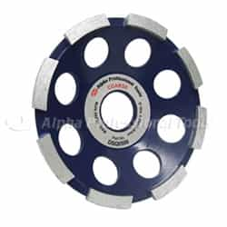 Alpha Professional Tools  DSQ0500 Segmented Grinding Wheel 26mm