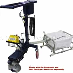 Alpha Professional Tools  ECOCAD225 Caddy for Ecogrinder 220V