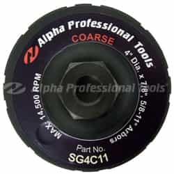"Alpha Professional Tools  SG4C11 SG 4"" Whl-Crse 5/8""-11 Thread"