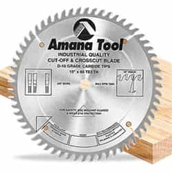 "Amana 610600 10""/60T Cut-Off Saw Atb Grind"