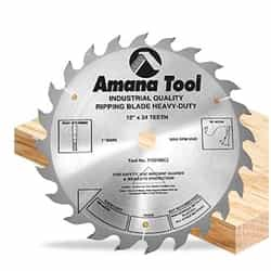 "Amana 712240 12""/24T Ripping Straight Grind"