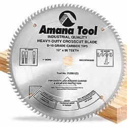 "Amana 716961 16""/96T Cut-Off Saw Tcg Grind"