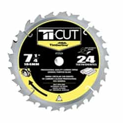"Timberline 72524 Ti-Cut Saw 7-1/4""/24T Atb"