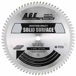 "Amana MD12-848 SOLID SURFACE 12""x84T 1"" BORE"