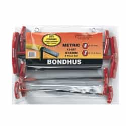 Bondhus 13187 Balldriver T-handle sets 8 pc. set (2-10mm) BTX80M