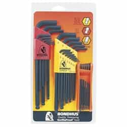 Bondhus 14130 Triple pack (10999, 10937, 12550 fold up) BLF34