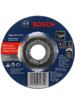 Bosch CG27M450 4-1/2 In. 3/32 In. 7/8 In. Arbor Type 27 24 Grit Light Grinding/Metal Cutting Abrasive Wheel
