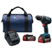 Bosch DDS181A-01 18V Compact Tough 1/2 In. Drill Driver Kit