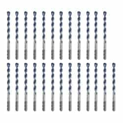 HCBG12B25T Blue Granite Turbo Hammer Drill Bit 3/8 X 4 X 6 - Inch, 25pk by Bosch Accessories