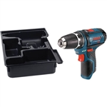 Bosch PS31BN 12 V Max 3/8 In. Drill Driver - Tool Only with L-BOXX Insert