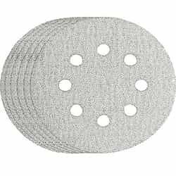 Bosch Tool Sandpaper SR5W122  5 Hook & Loop Sanding Disc, 8-Hole, White, 120 Grit  (25pk)