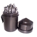Champion TWISTER-XL5 Brute Platinum HSS Twister Mechanics Length Drill Bit Set-29pc 135 Deg. Split Point Water Resistant Index