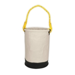 CLC 12 Inch Leather  Bottom Utility Bucket