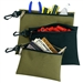 CLC 3 Poly Multi-Purpose, Clip-On, Zippered Bags