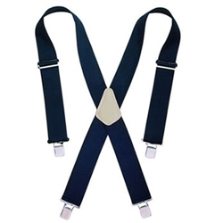 CLC Heavy-Duty Work Suspenders - Blue