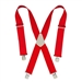 CLC Heavy-Duty Work Suspenders - Red