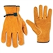 Split Cowhide Driver Work Gloves 2057L by CLC Work Gear