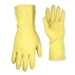 Single Pack Yellow Latex Cleaning Gloves 2300M by CLC Work Gear