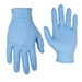 Nitrile Disposable Gloves, Pre-Powdered, 100/Box 2320M by CLC Work Gear
