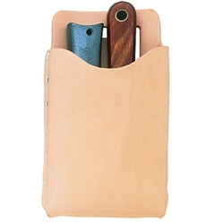 CLC Top Grain Box-Shaped, All-Purpose Pouch