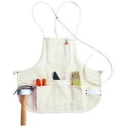 CLC 12 Pocket Canvas Bib Apron