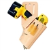 CLC Top Grain 45° Cordless Drill Holster
