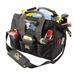 "Custom Leathercraft CLC L230 45 Pocket Tech Gear Lighted 14"" BigMouth Tool Bag"