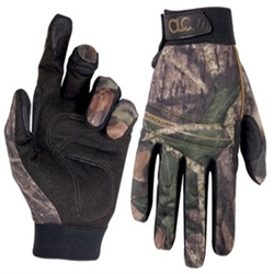 CLC Mossy Oak Form-Fitted High Dexterity Work Gloves - L