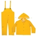 CLC 3 Piece Heavyweight PVC Rain Suit - M