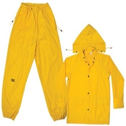 CLC Yellow Polyester 3 Piece Suit - 4XL