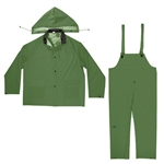 CLC 3 Piece Heavyweight PVC Rain Suit - L