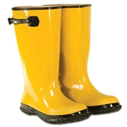 CLC 17 Inch Yellow Rubber Slush Boot - Size 13