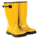 CLC 17 Inch Yellow Rubber Slush Boot - Size 17