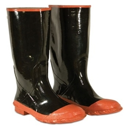 CLC Red Sole & Toe Rubber Boot - Size 9