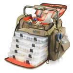 Wild River WT3702 Tackle Tek Frontier LED Lit Bar Handle Tackle Bag - With Trays
