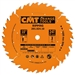 CMT 201.030.12 Industrial Ripping Saw Blade, 12-Inch x 30 Teeth FTG Grind with 1-Inch Bore, PTFE Coating