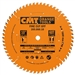 CMT 205.060.10 Industrial Cut-Off ATB Saw Blade, 10-Inch x 60 Teeth 20º ATB Grind with 5/8-Inch Bore, PTFE Coating