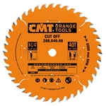 CMT 208.040.07 Industrial Cut-Off ATB Saw Blade, 7-1/4-Inch X 40 Teeth, 5/8-Inch<> Bore, PTFE-Coated