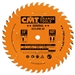 CMT 213.040.10 Industrial General Purpose Saw Blade, 10-Inch x 40 Teeth 20º ATB Grind with 5/8-Inch Bore, PTFE Coating