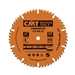 CMT 215.050.10 Industrial Combination Blade, 10-Inch. x 50 Teeth 4ATB+1TCG Grind with 5/8-Inch. Bore, PTFE Coating