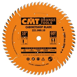 CMT 221.072.12 Industrial Cabinetshop Saw Blade, 12-Inch x 72 Teeth TCG Grind with 1-Inch Bore, PTFE Coating