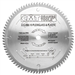 CMT 222.080.10 Industrial Plexiglass and Plastic Saw Blade, 10-Inch x 80 Teeth MATB Grind with 5/8-Inch Bore