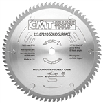 CMT 223.096.14 Industrial Solid Surface Saw Blade, 14-Inch x 96 Teeth MTCG Grind with 1-Inch Bore
