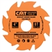 CMT 240.008.04 Biscuit Joiner Blade, 4-Inch Diameter x 8 Teeth, PTFE-Coated.