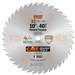 CMT 251.042.10 ITK General Purpose Saw Blade, 10-Inch x 42 Teeth 1FTG+2ATB Grind with 5/8-Inch Bore
