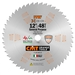 CMT 251.045.12 ITK General Purpose Saw Blade, 12-Inch x 45 Teeth 1FTG+2ATB Grind with 1-Inch Bore